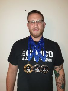 Daniel Kimmling gewinnt BJJ Turnier AGC am 28. September 2019 in Stuttgart!