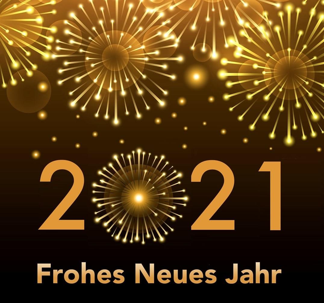 Wir wünschen ein frohes neues Jahr!